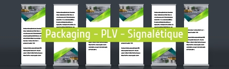 PACKAGING - PLV - SIGNALÉTIQUE