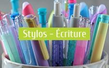Stylos - écriture